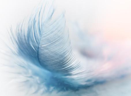 l'Ange devant