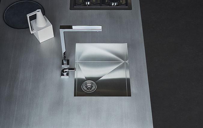#inox #ice design #brossé tourbillon #suter inox #franke inox #plan de travail