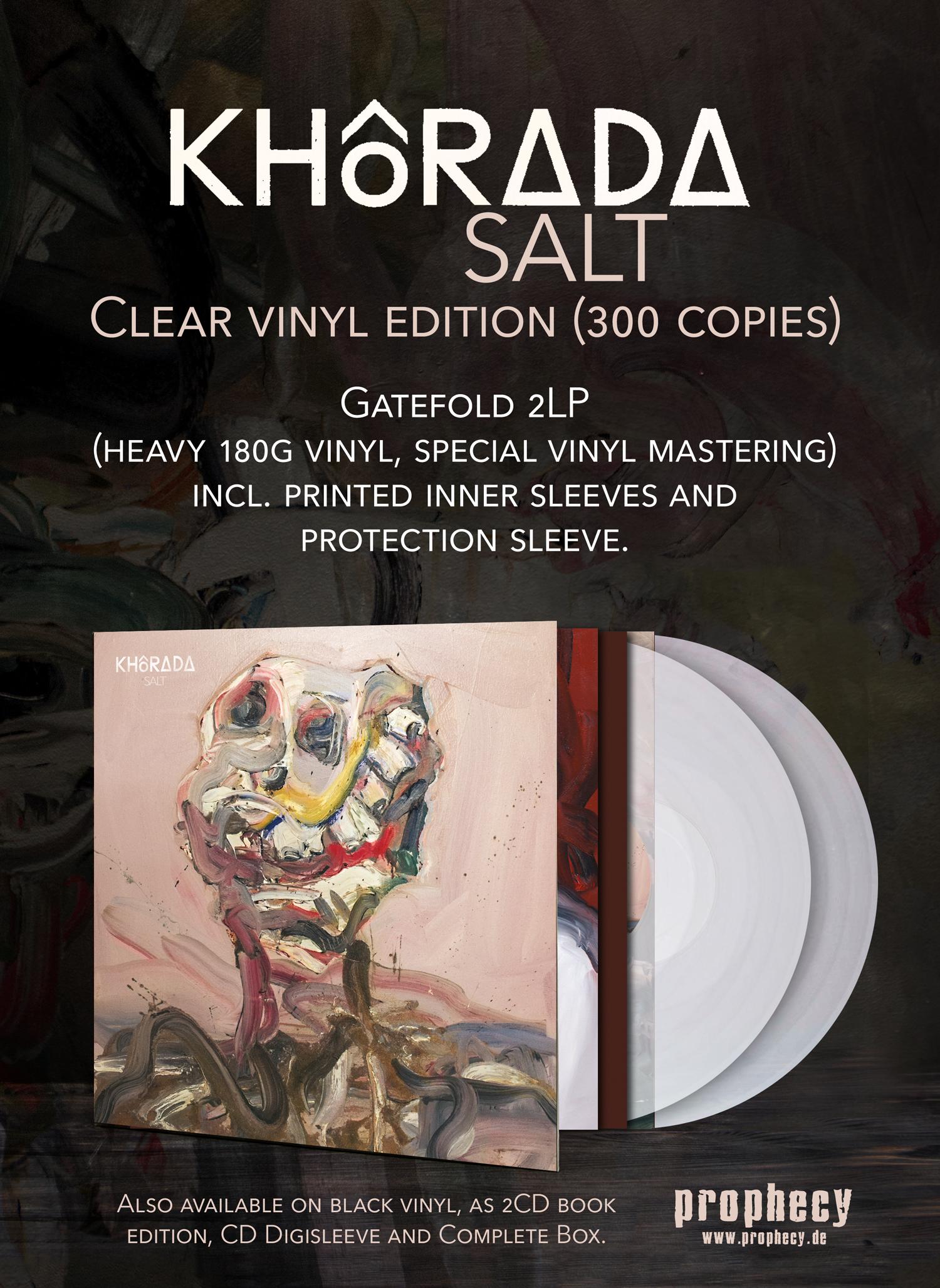 """KHôRADA """"SALT"""" clear vinyl"""