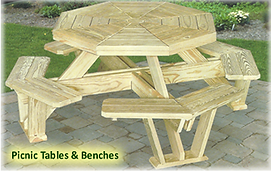 Adirondack outdoor furniture