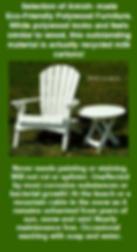 Patio Furniture, Polywood Furniture, Eco-Friendly
