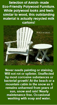 Patio Furniture, Polywood Furniture, Eco-Friendly