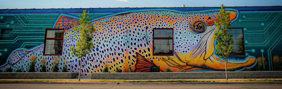 Fishwater Mural, 2020