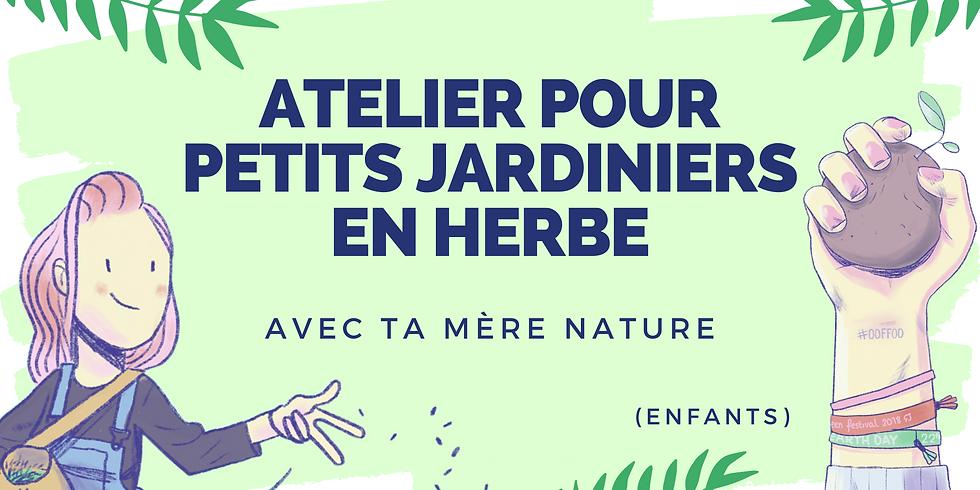 Ateliers pour petits jardiniers en herbe