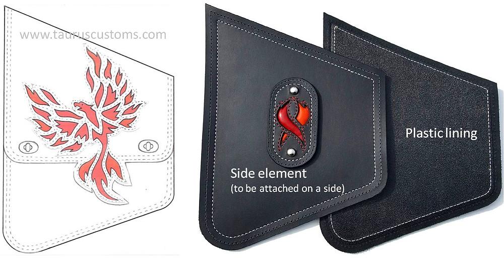 Phoenix bag for Softail Slim