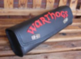 Custom genuine leather tool-bag for ape hangers