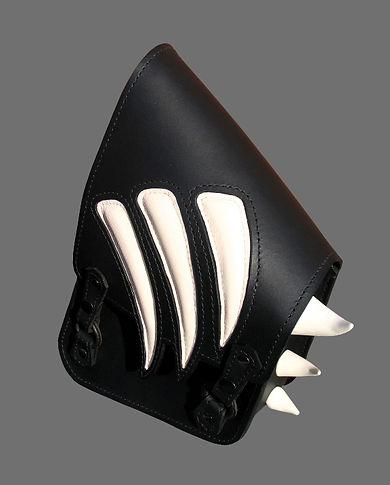 Custom swing-arm bag for Harley-Davidson