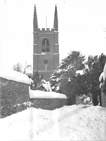 1950's Collyweston Snow Entry Church.jpg