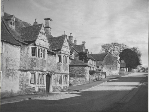 Collyweston High Street 1950's