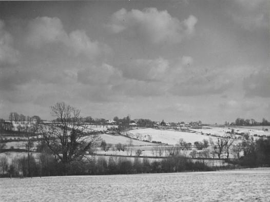Collyweston Winter 1950's from Ketton.jp