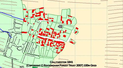 Collyweston historic map 1841.jpg