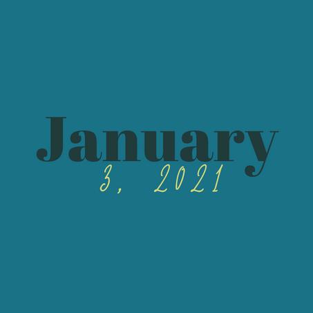 January 3, 2021
