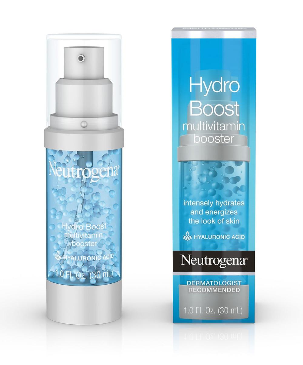 Neutrogena Hydro Boost Multivitamin Booster Face Serum product photo. Photo credit: Neutrogena