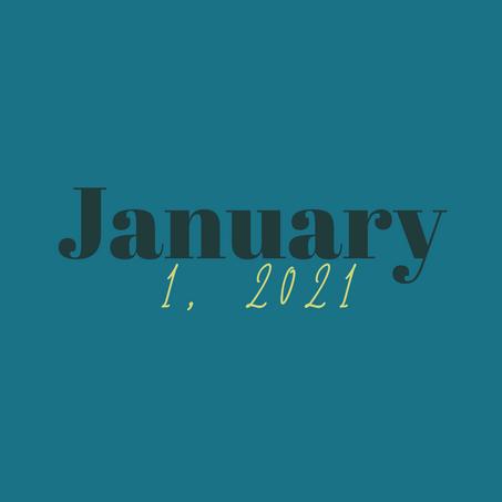 January 1, 2021