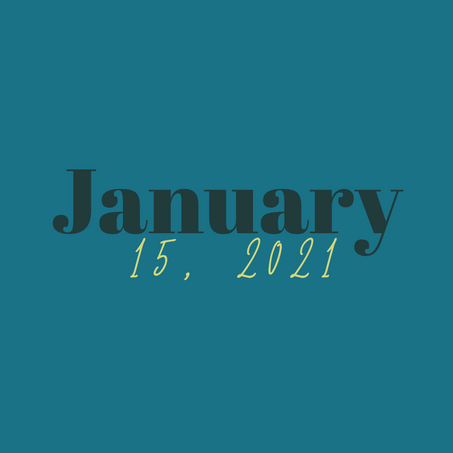 January 15, 2021