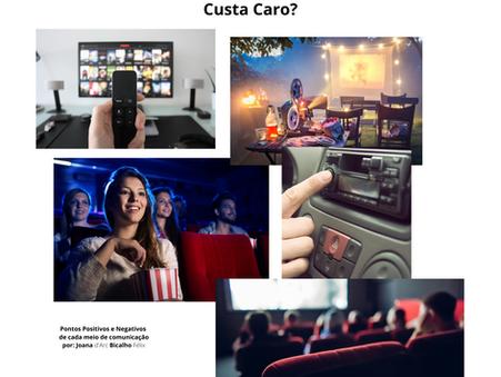 Meios de Comunicação Publicitária: Rádio, Tv e Cinema?
