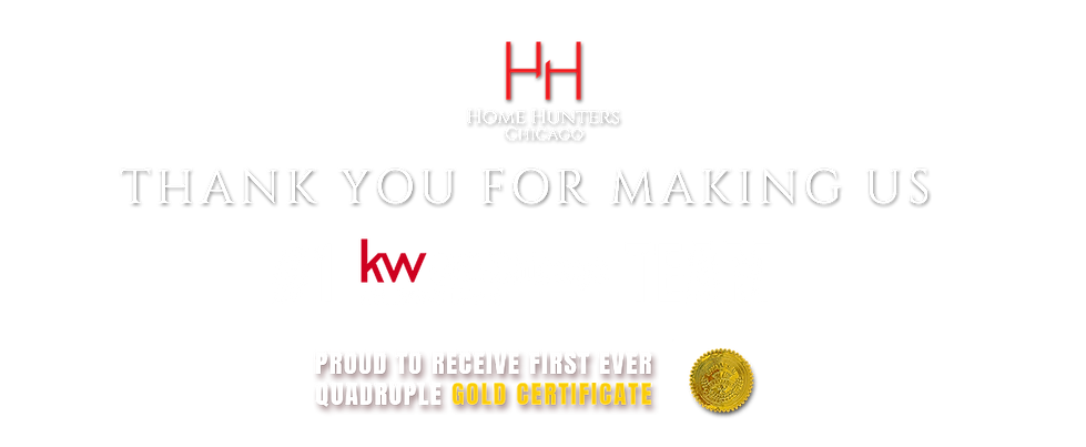 Home Hunters Chicago - Thank you for making us #1