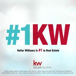 Keller Williams is #1 in Real Estate