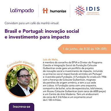 Brasil e Portugal - inovação social e investimento para impacto