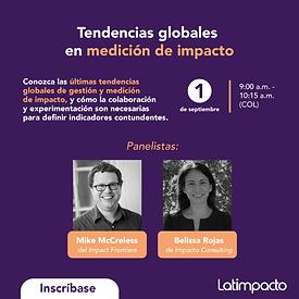 Tendencias globales en medición de impacto