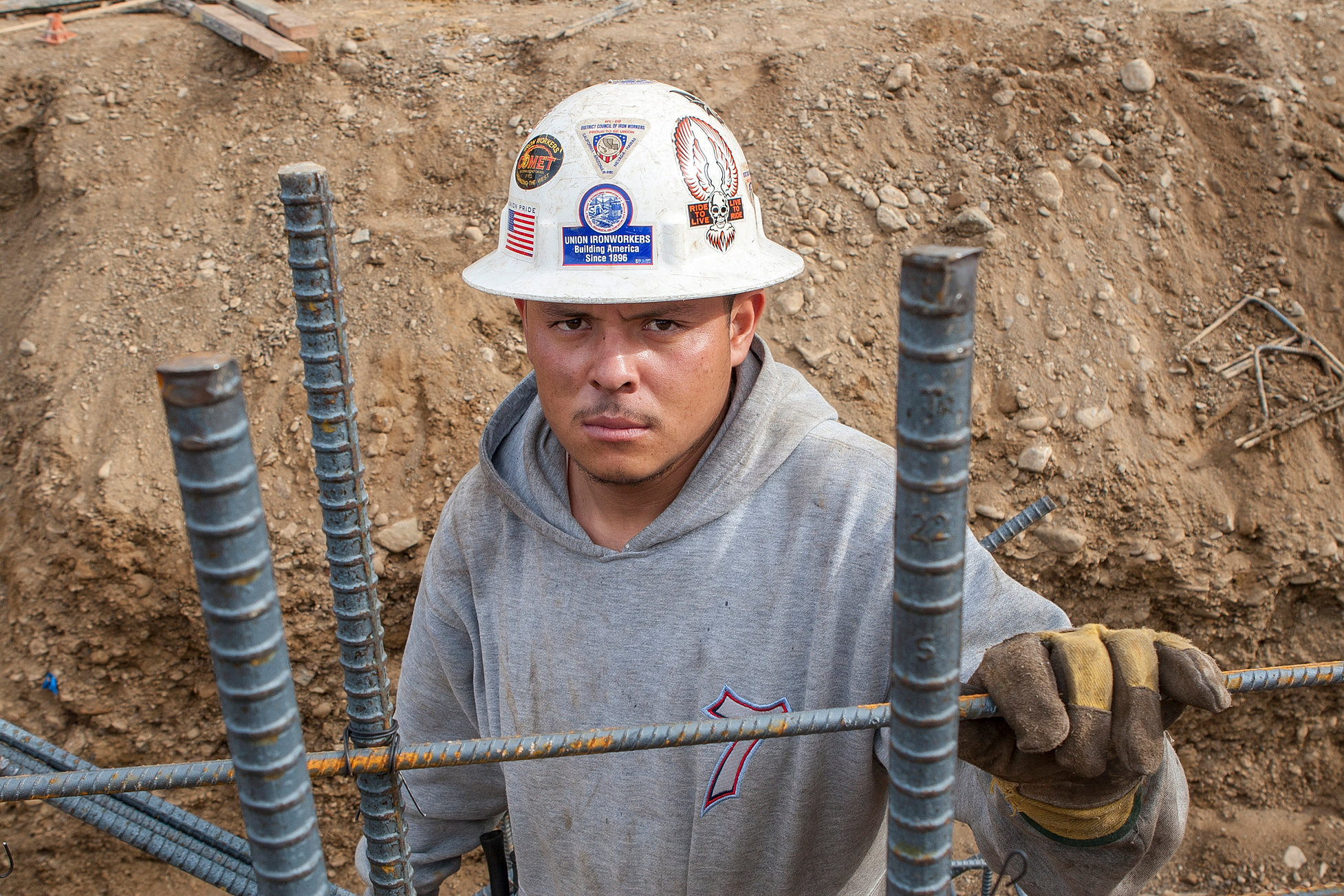 rebar worker