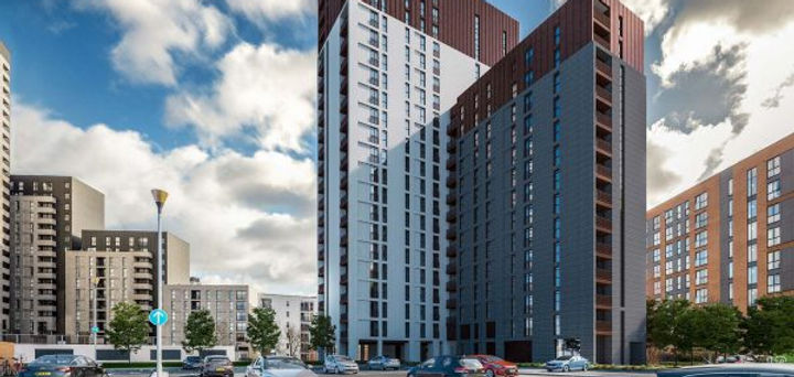 Regent Plaza residential apartments in Manchester
