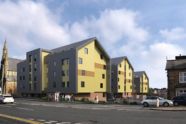 Canterbury Hall Student Studios, Preston - 10% for 5 years