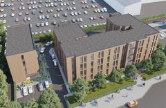 THE VILLAS IN STOKE ON TRENT - STUDENT FLATS