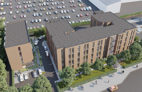 The Villas in Stoke on Trent student investment