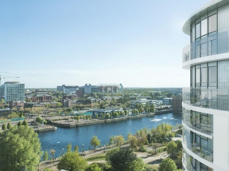 Northill Apartments in Salford Quay, Manchester