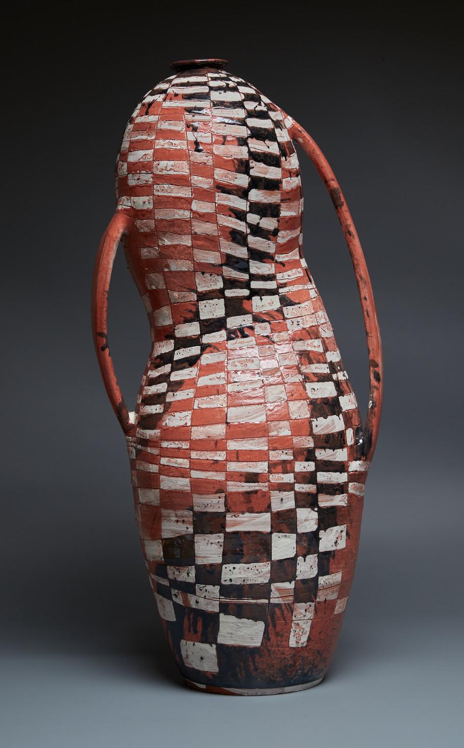 Maia McDonald (surface treatment) + Thomas Baker (thrown clay body)