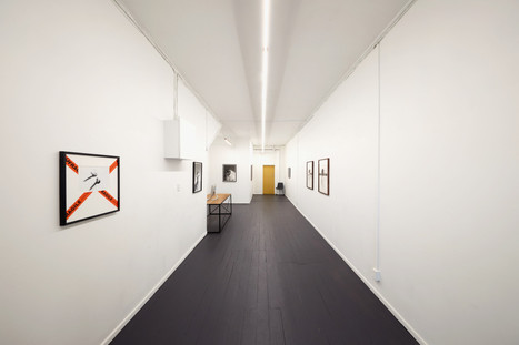 Installation image: Siloed, 2019