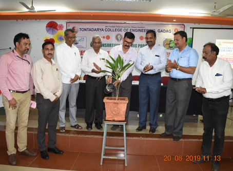 One Day VTU consortium Training program on E-Resources for Academic Excellence on 20-08-2019