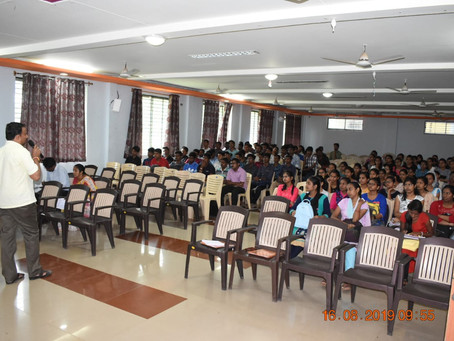 First Year Orientation program 2019