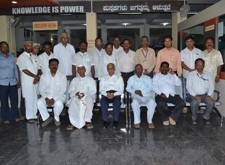 ISRO Chairman Dr. Kirankumar Visited to Library
