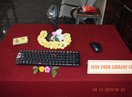 Inauguration of KOHA inout and KOHA Web OPAC