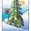 Thumbnail: Skiing British Columbia - 11x14inch Frame