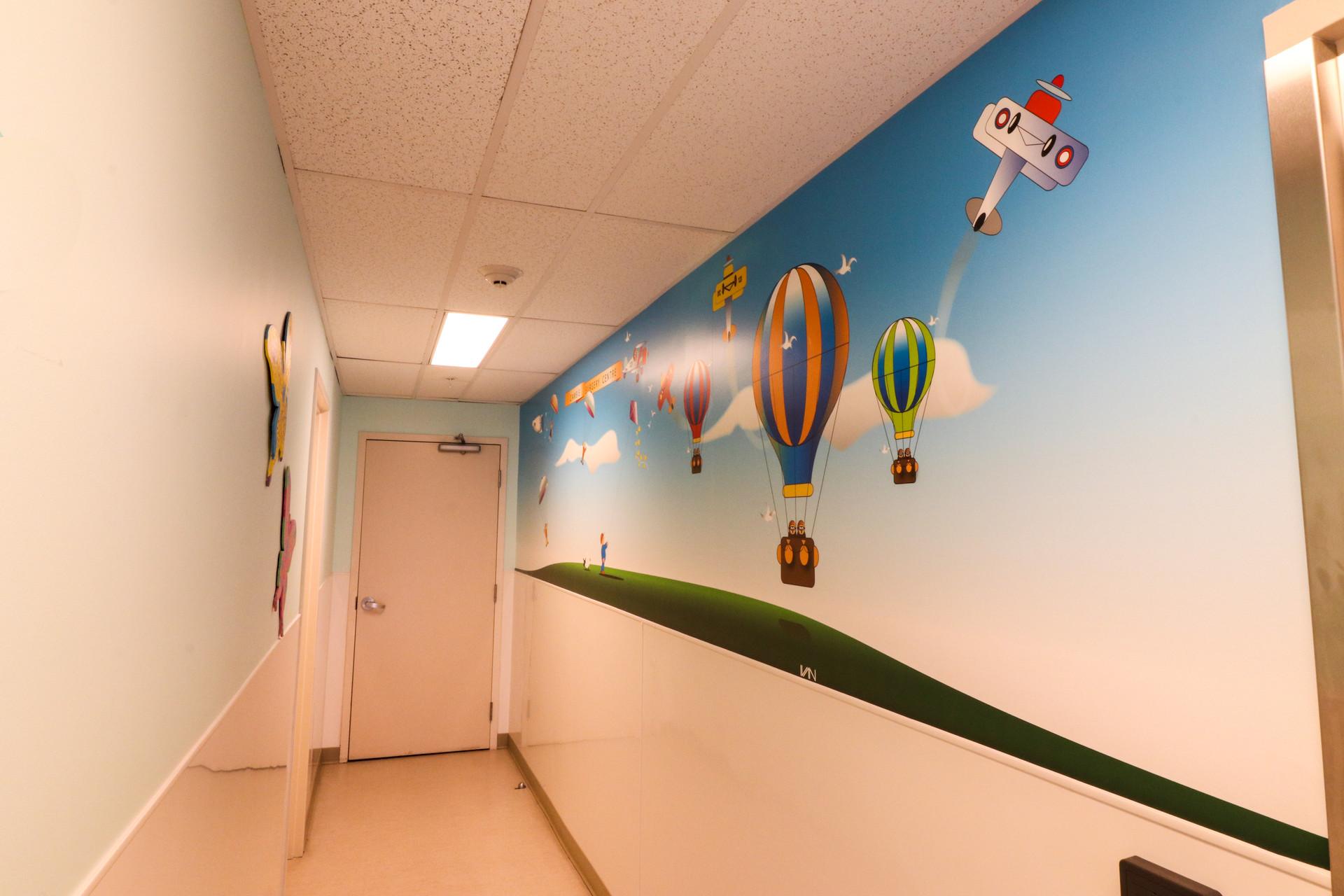 Hallway Mural
