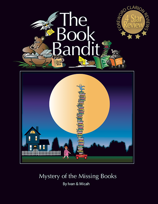 The Book Bandit - Children's Book
