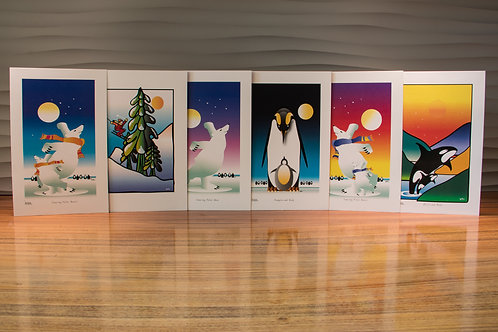 6 Greeting Cards - Assorted Pack 1