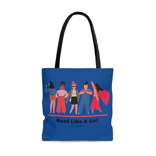 Read Like a Girl Tote Bag