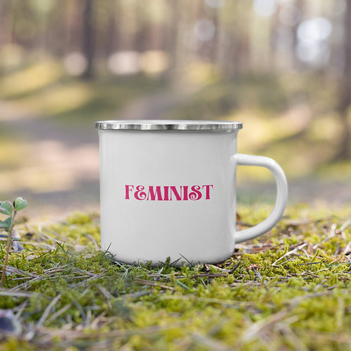 FEMINIST Enamel Mug