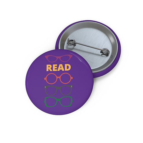 Glasses Pin Buttons