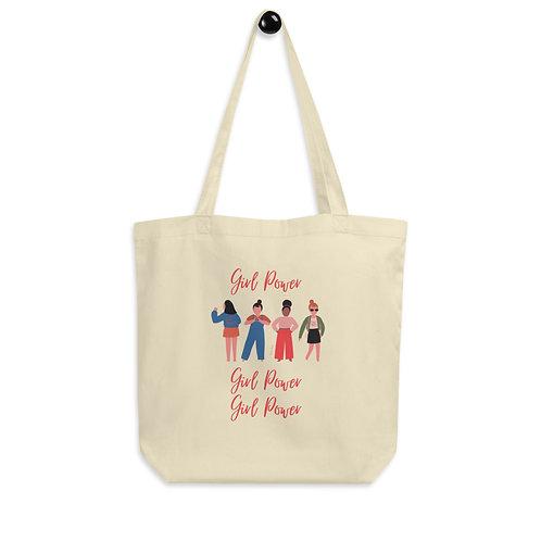 Girl Power Eco Tote Bag