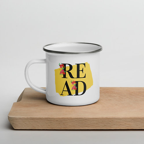 READ Enamel Mug