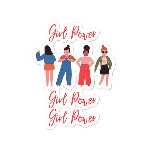 Girl Power Stickers