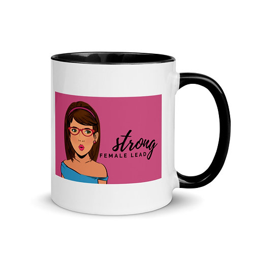 Strong Female Lead Black & White Mug
