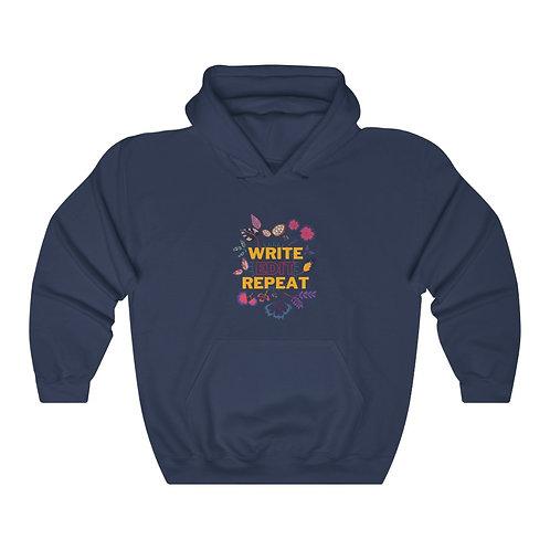 Write Edit Repeat Hooded Sweatshirt
