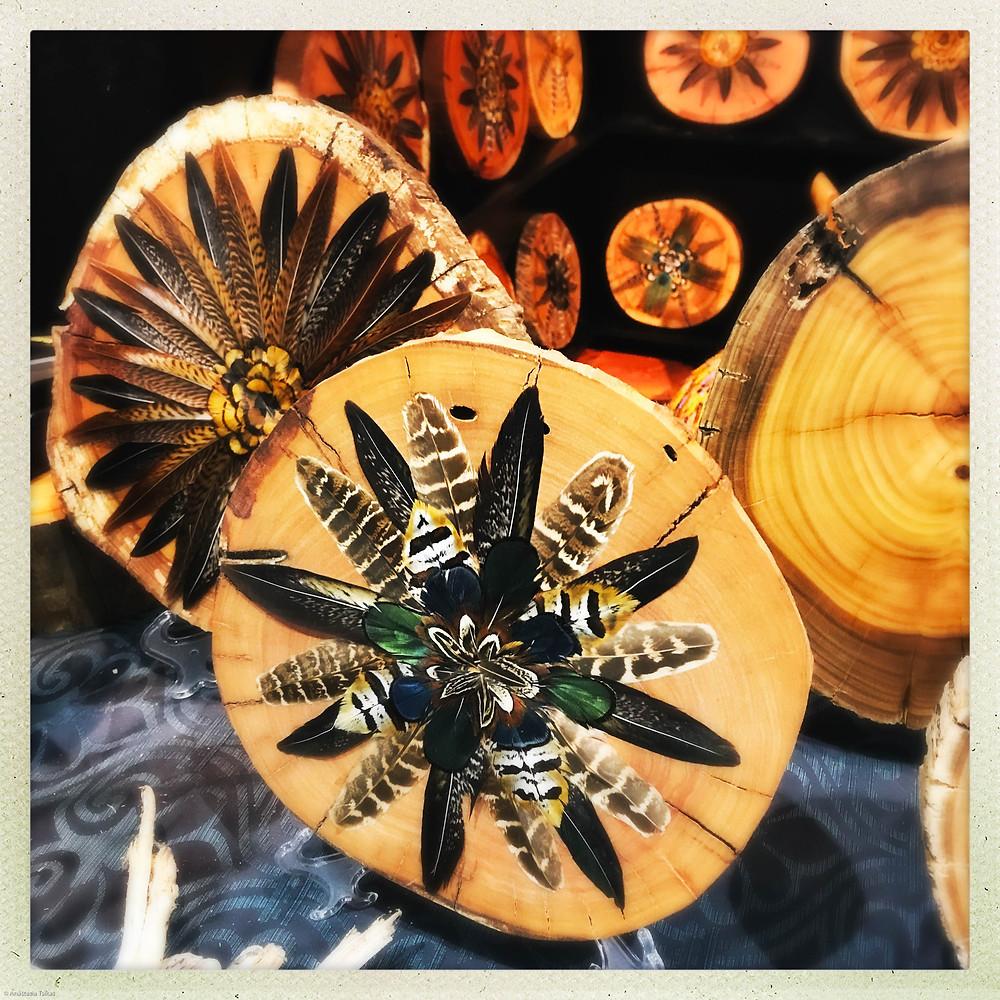 Feather Mandala by Wood N Water #2
