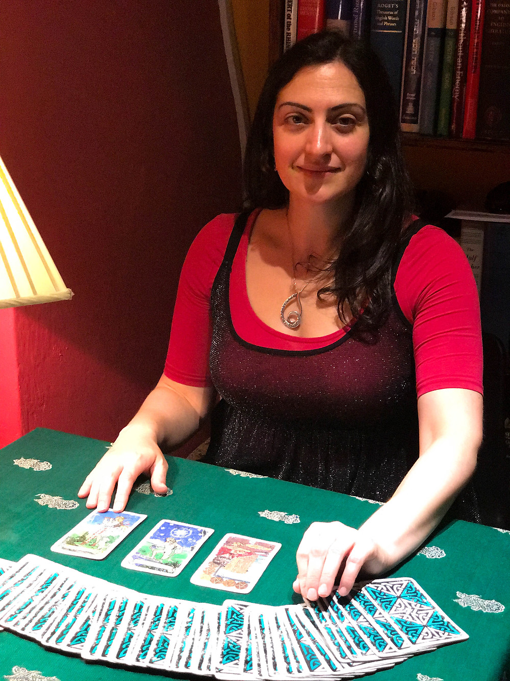 Michelle Chaso - Tarot reader at Treadwell's London
